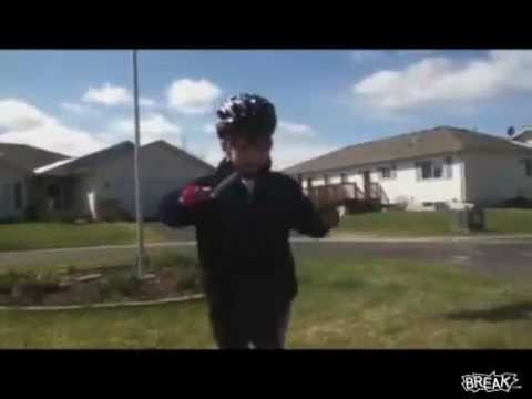 Kid Gives Speech After Learning To Ride A Bike (Original)