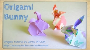 How to Fold Origami Easter Bunny