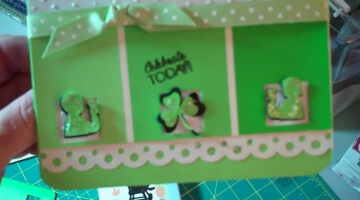 Think Green for St. Patrick's Day Card