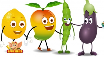 Let's Learn Fruits & Vegetables