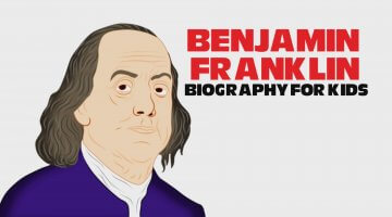 Benjamin Franklin Cartoon for Children