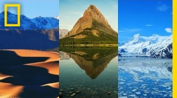 All National Parks in One Minute